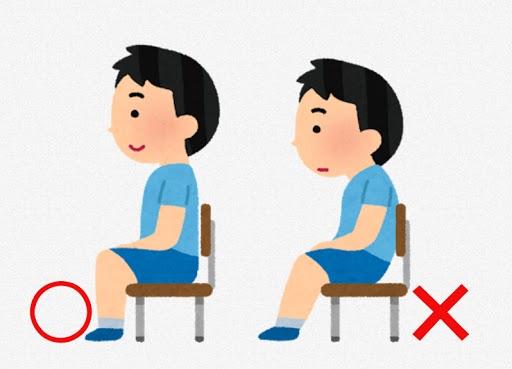 仙骨座り。ランドセルと教科書の重さが子供の身体に与える影響。